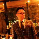 スーツを着たディアバーバーの施術後の男性の写真1